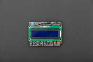 Gravity: 1602 LCD Keypad Shield For Arduino