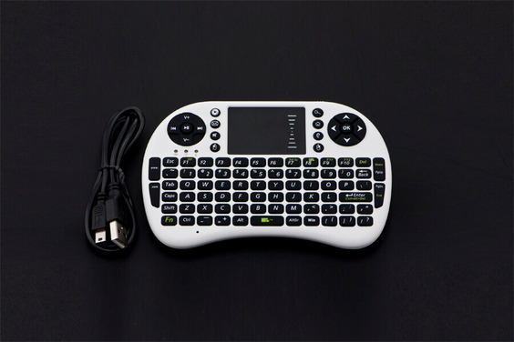 Wireless Keyboard with Touchpad for Raspberry Pi and LattePanda