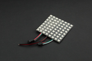 Gravity: Flexible 8x8 RGB LED Matrix