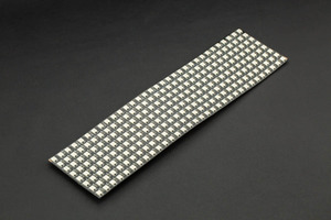 Gravity: Flexible 8x32 RGB LED Matrix