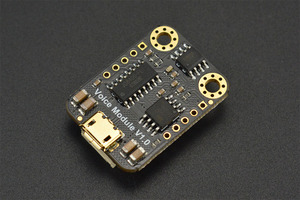 Gravity: UART MP3 Voice Module with 8MB Flash Memory