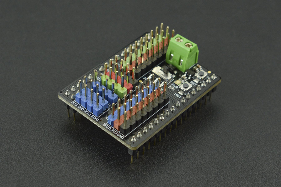 Gravity: I/O Expansion Shield for Pyboard