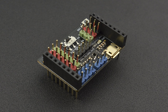 Gravity: I/O Expansion Shield for OpenMV Cam M7