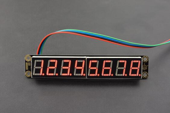 Gravity: 8-Digital LED Segment Display Module (Red)