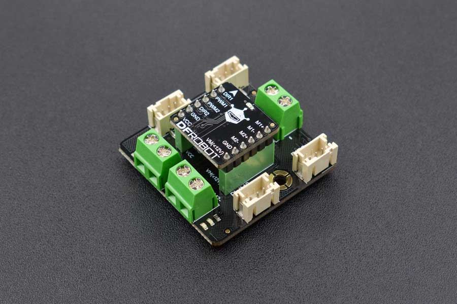 Gravity: 2x1.2A DC Motor Driver with Gravity Connector (TB6612FNG)
