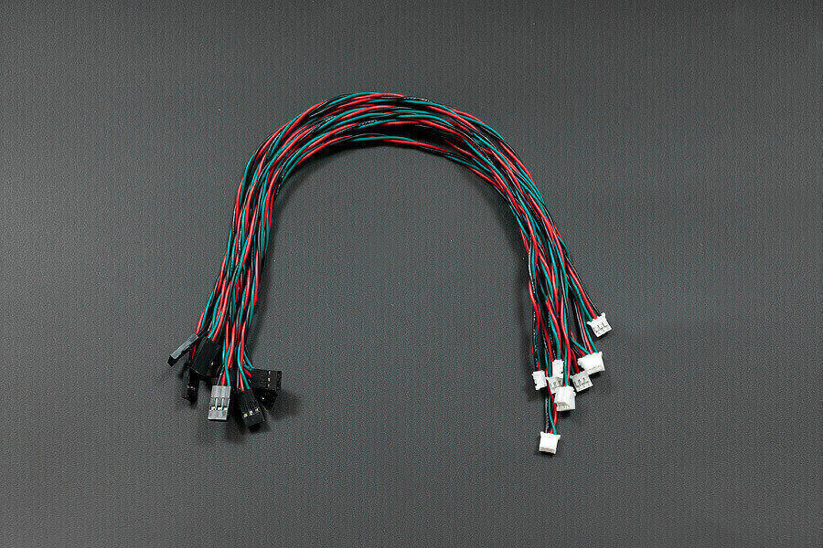 Gravity: Digital Sensor Cable For Arduino (10 Pack)