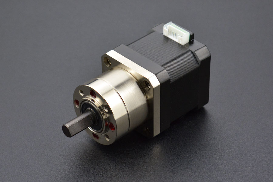 Bipolar Stepper Motor with Planet Gear Box  (18kg.cm)