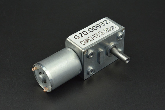 Turbo Metal Gear Worm Motor (12V 160RPM 2.2kg.cm)