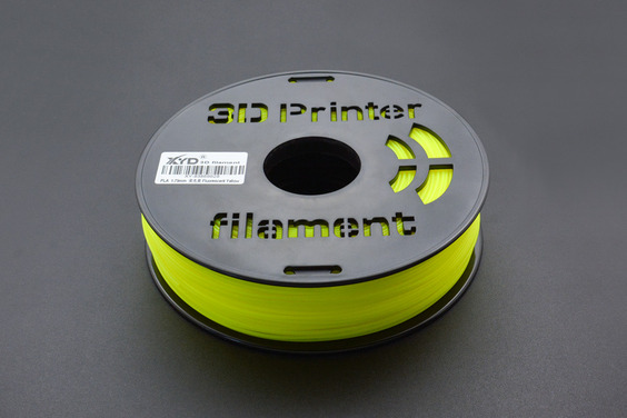 1.75mm-PLA-Fluorescent Yellow (1kg)