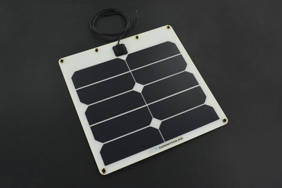 Semi Flexible Solar Panel (5V 2A)