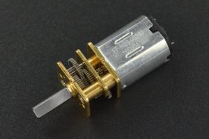 Micro Metal DC Geared Motor (6V 50RPM 250g*cm)