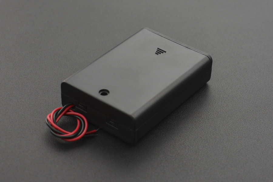 3xAA Battery Holder(with Cover and Power Switch)