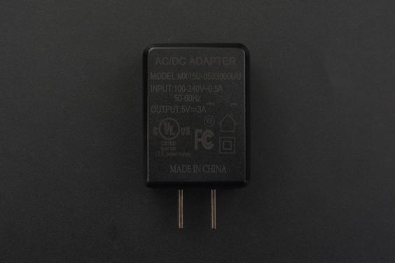 5V@3A USB Power Supply (US Standard)