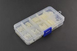 White Nylon Screw and Mounting Kit -M2