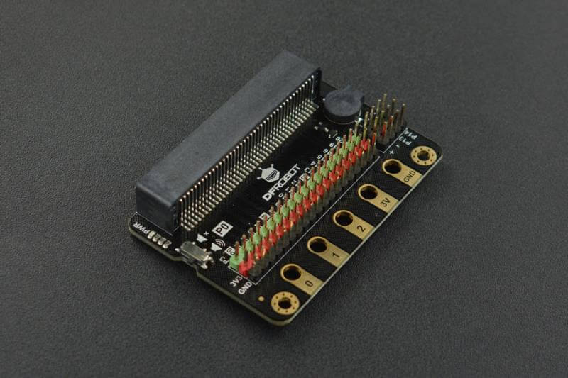 micro:IO Extender- a micro:bit IO Expansion Board with Rich Ports