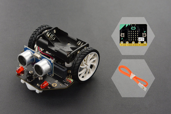 micro: Maqueen Lite(with micro:bit)