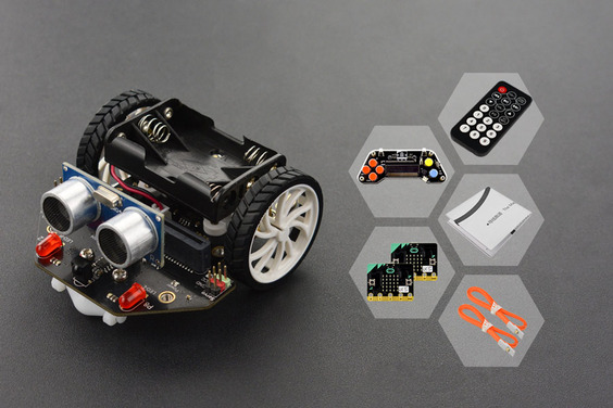 micro: Maqueen Lite(with micro:bit/ micro:Gamepad/IR Remote Controller)