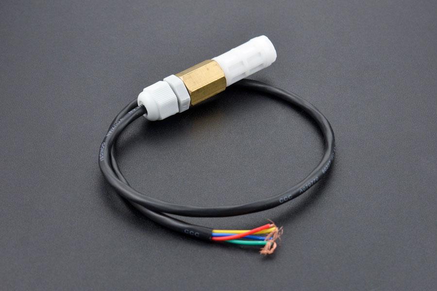 SHT20 I2C Temperature & Humidity Sensor (Waterproof Probe)