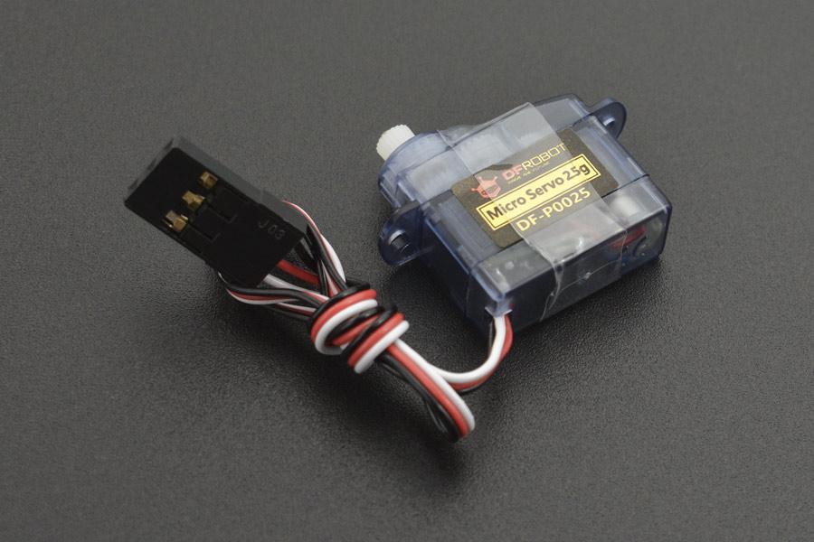 2.5g 360 degree Micro Servo (0.45kg)
