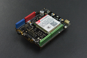 SIM7600CE-T 4G(LTE) Shield for Arduino