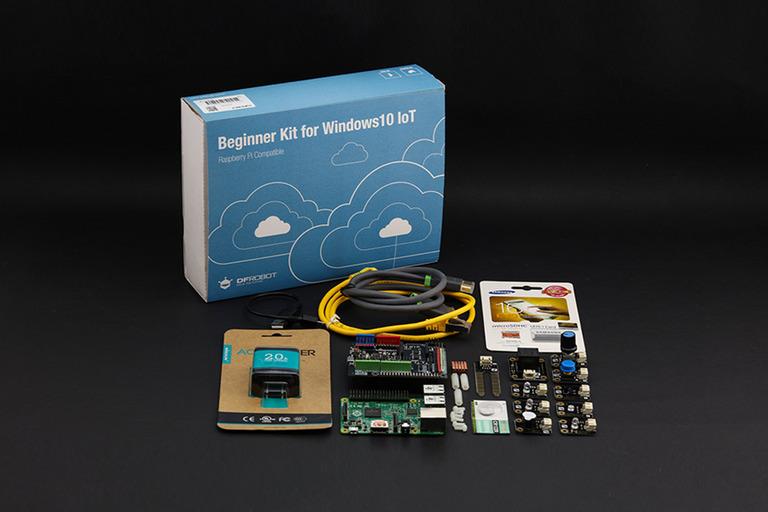 Beginner Kit for Raspberry Pi 2 (Windows 10 IoT Compatible