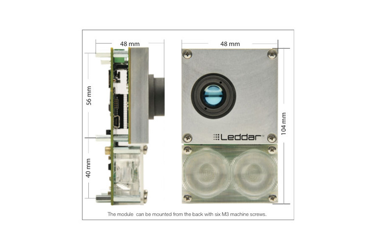 Leddar M16 Sensor Module (45 degree beam)-DFRobot