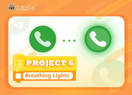 Breathing Lights | MindPlus Coding Kit for Arduino Started Tutorial E06