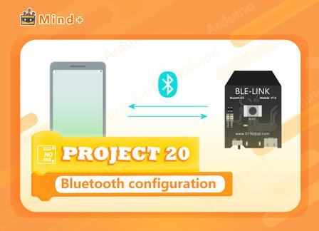 Bluetooth configuration | MindPlus Coding Kit for Arduino Started Tutorial E20