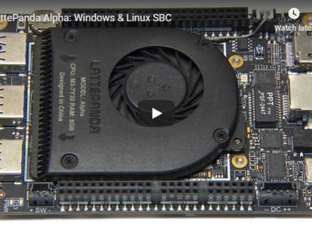 LattePanda Alpha: Windows & Linux SBC