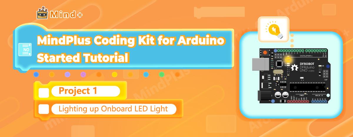 Lighting up Onboard LED Light