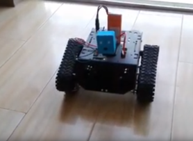 Devastator Tank DIY Mobile Robot Arduinor WiFi Control with Camera by DFRobot