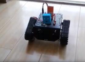 Devastator Tank DIY Mobile Robot Arduinor WiFi Control with Camera by DFRobot