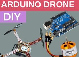 DIY Arduino based quadcopter Drone