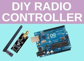 DIY Radio Controller for Drone Arduino Based Quadcopter | Joystick remote | nRF24L01