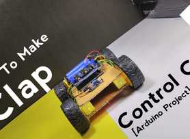 How to Make CLAP Control Car || Using Arduino Uno