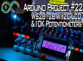 WS2812B RGB LED Brightness Control & Color Mixing