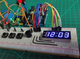 Arduino Adjustable Countdown Timer with 7Segment Display