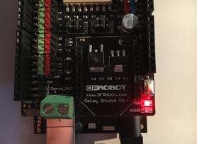 DFRobot - 4 Relay Shield for Arduino