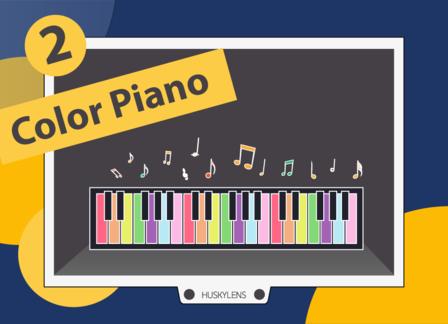 Color Piano | Huskylens Playground with micro:bit EP02