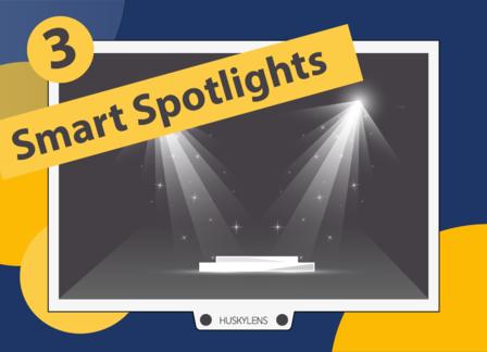 Smart Spotlights | Huskylens Playground with micro:bit EP03