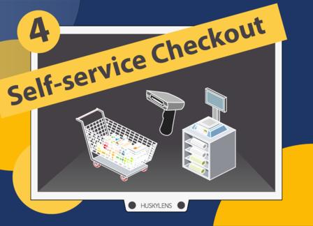 Self-service Checkout | Huskylens Playground with micro:bit EP04