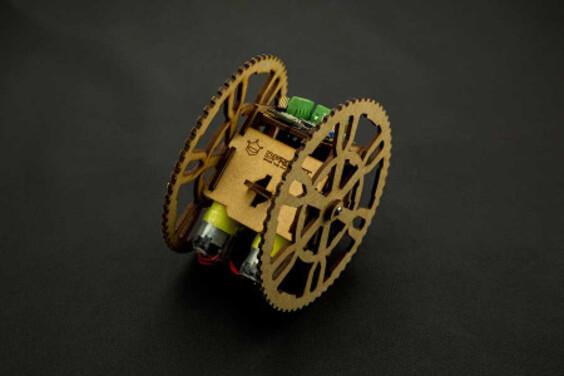 Flamewheel - A 2WD Remote Control Robot