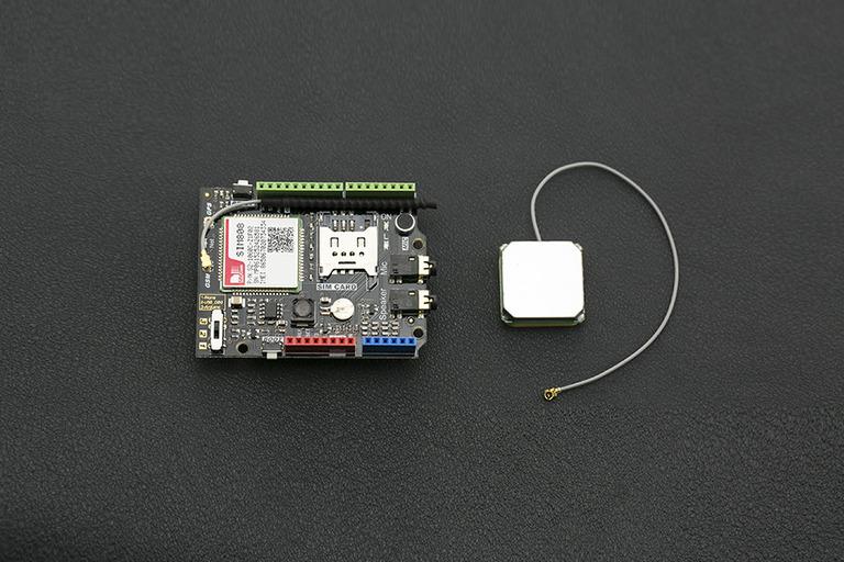 SIM808 Arduino GPS/GPRS/GSM Shield - DFRobot