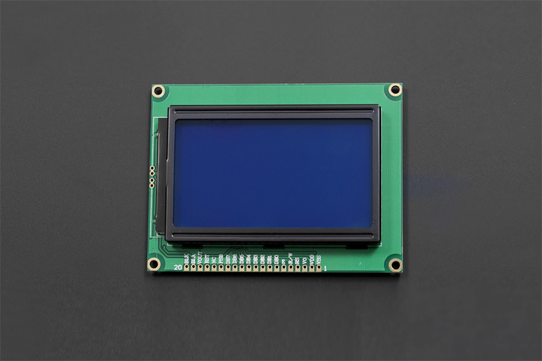 128x64 Graphic LCD-DFRobot