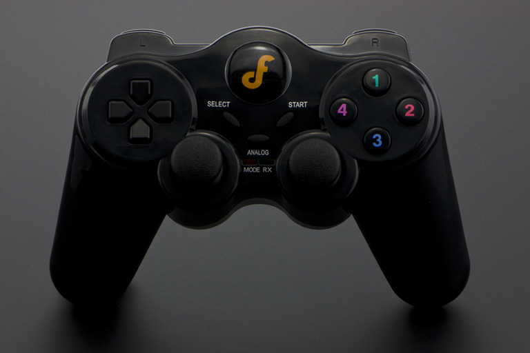 BLE (Bluetooth low energy) Wireless Gamepad V2 for PC-DFRobot