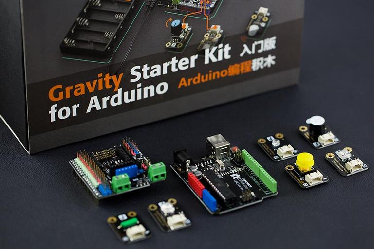 Gravity: Starter Kit for Arduino - DFRobot
