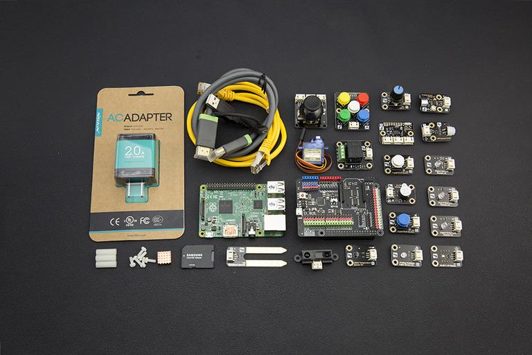 Advanced Kit for Raspberry Pi 2 (Windows 10 IoT Compatible