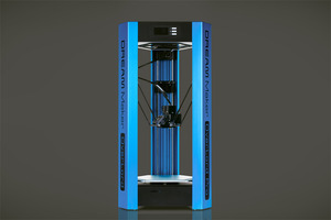 OverLord Pro 3D Printer - Classic Blue w/ EU Adapter