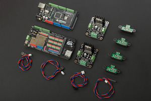 Gravity: DFRduino Mega Kit For 4 Motor Robot