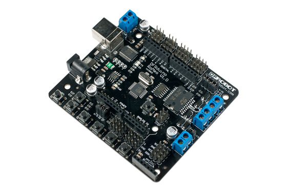 Romeo-All in one Controller (Arduino Compatible Atmega 328) (Discontinued V1.0)